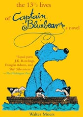 The 13 1/2 Lives of Captain Bluebear Cover